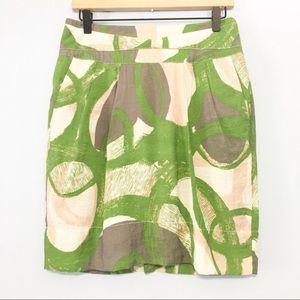 Tulle Pleated lightweight pocket career skirt XL